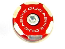 Load image into Gallery viewer, Ducabike TRS02 Left Front Wheel Cap Bicolor
