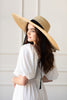 Daydreamer Straw Hat with Ribbon Tie