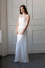 Julianna Strapless White Maxi