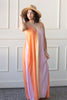 Miraflores Sunset Colorblock Maxi