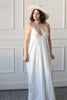 white sundress, maxi dress with pockets, maxi white dress, honeymoon outfits, elan dress, elan maxi dress, white and gold maxi dress, elan, plus size white maxi dress,