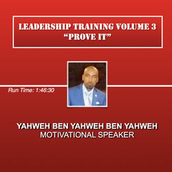 Leadership Training Volume 3 Prove It! (D)