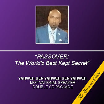 Passover the Worlds Best Kept Secret (CD) - The Elevation Series