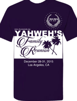 3rd Annual Yahweh Family Reunion 2015 T-Shirt