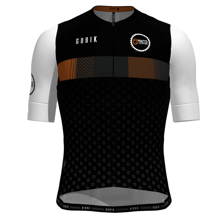 Watts & Coffee - Dark Roast Cycling Jersey