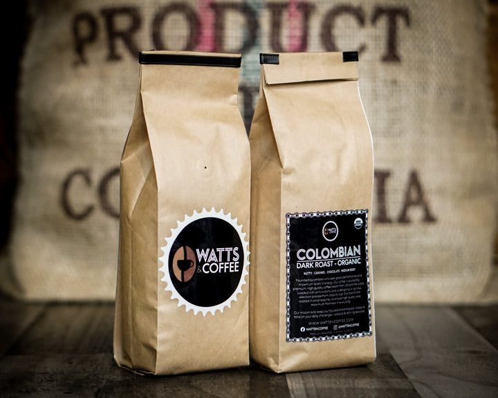 Organic Colombian Coffee - Dark Roast
