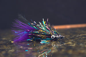 SRF Bugger 2.0 Fly tying tutorial ( Trout Streamer )
