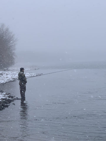 winter fishing vern
