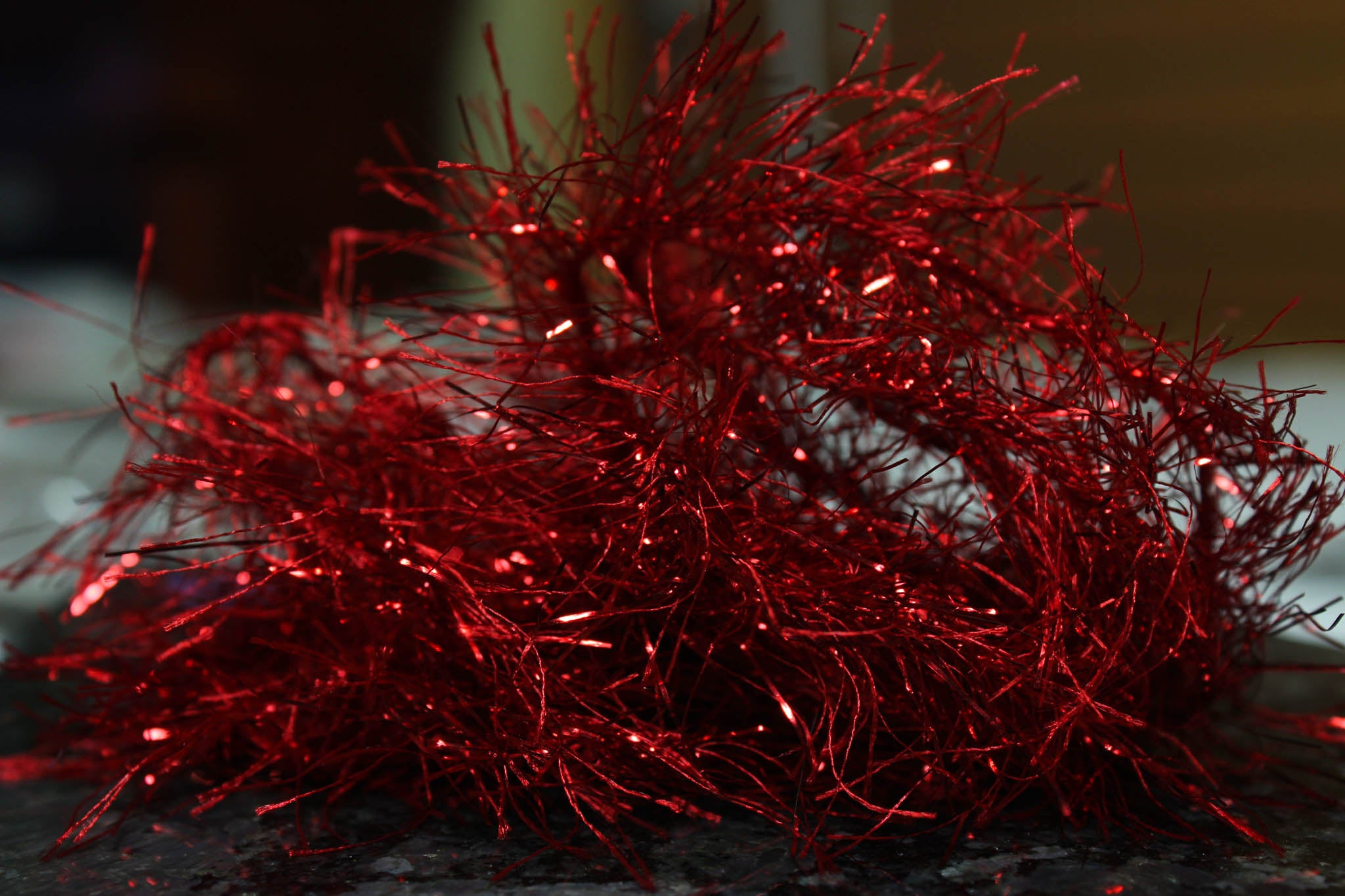 snake river fly hydro hackle bright red