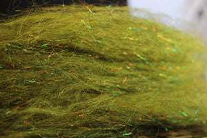 snake river fly streamer fur dark olive
