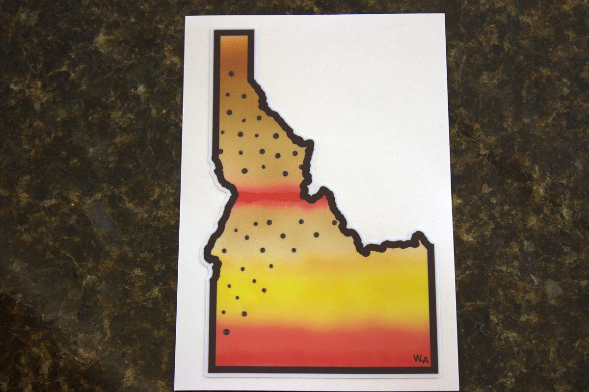 Idaho Trout Stickers