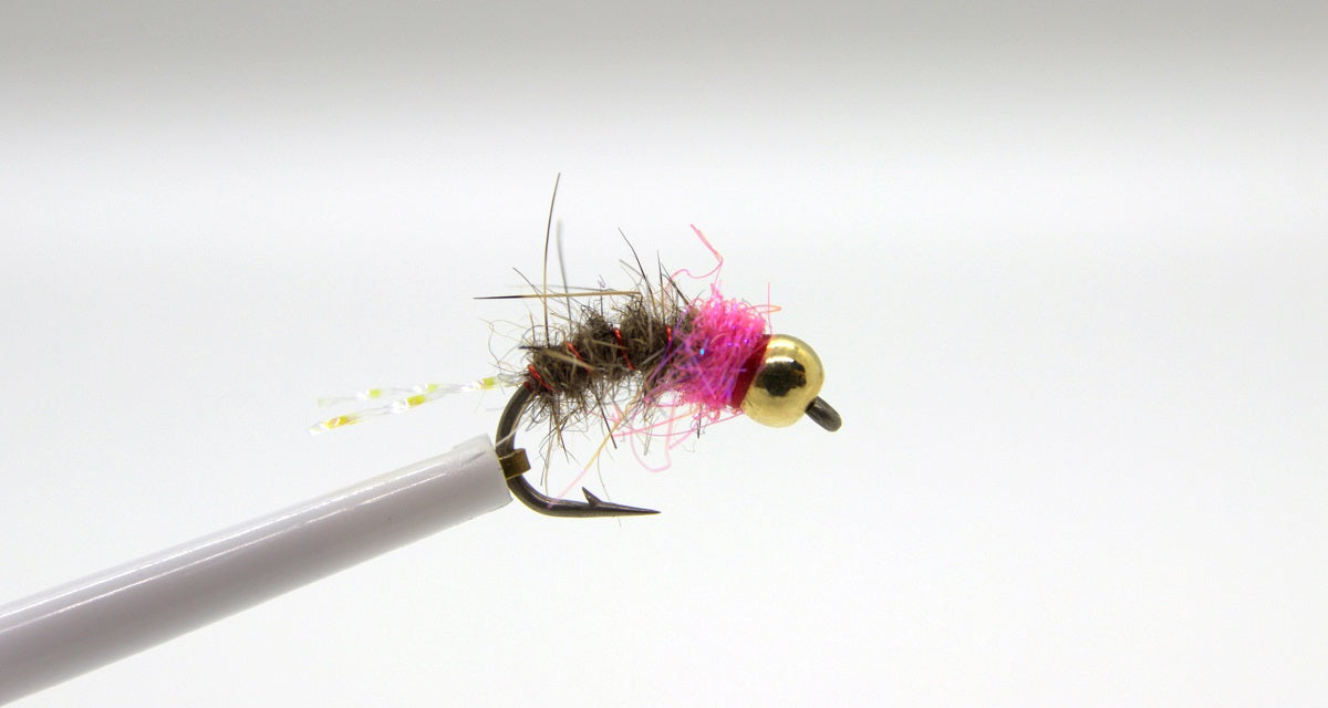 Tungsten Pink Squirrel Nymph