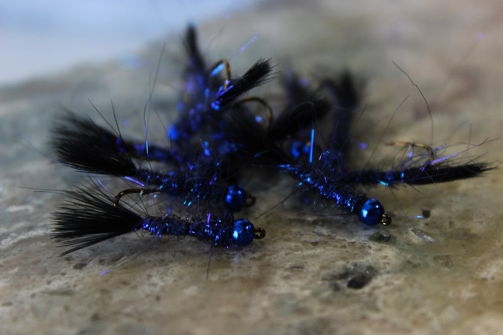 dave's blue pill fly snake river fly custom fly tying flies