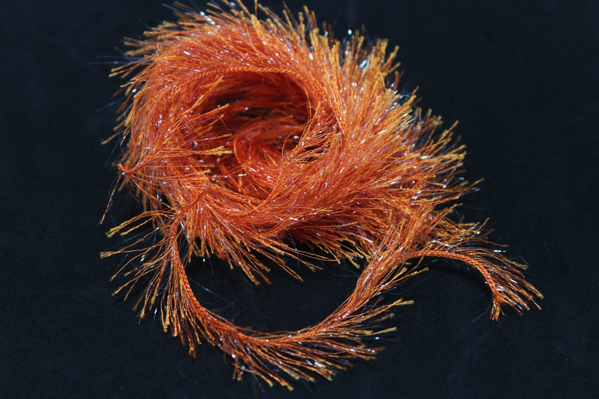 snake river fly hydro hackle tangerine pastel