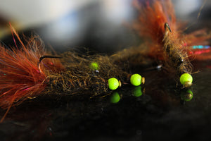 custom fly fishing flies snake river fly balanced leech