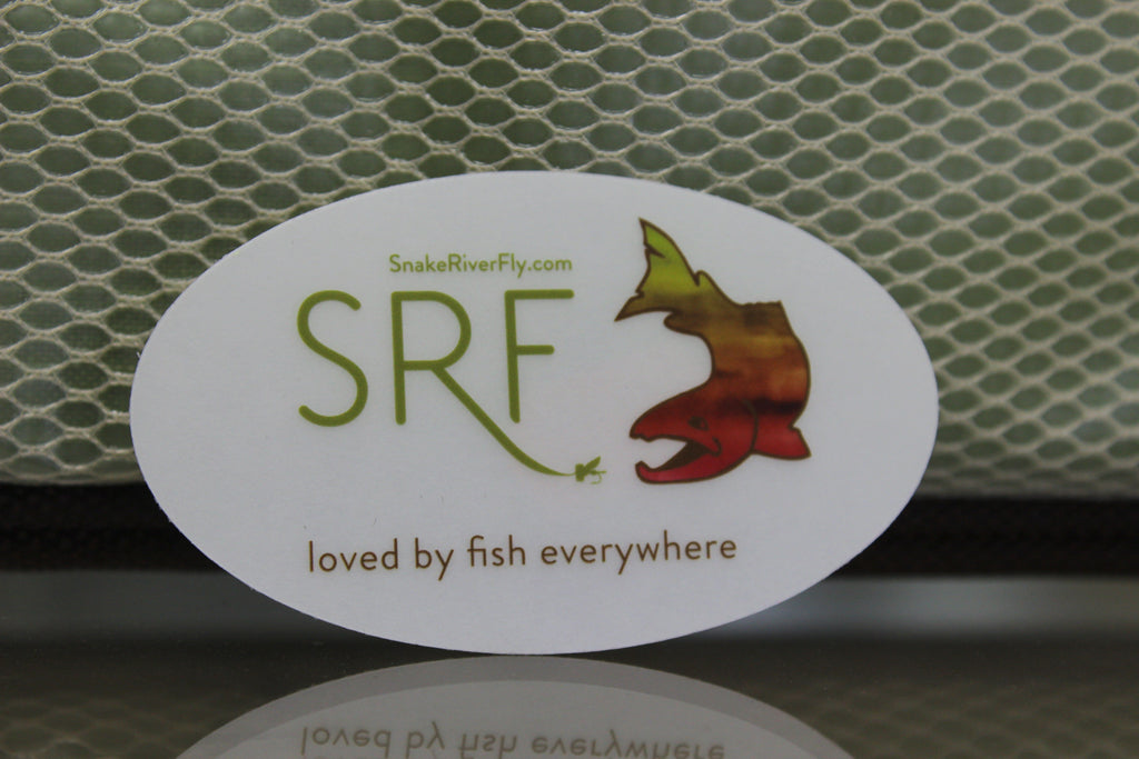 Snake River Fly Sticker