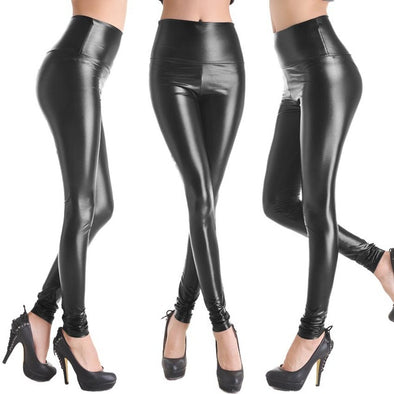 Super Hot Faux Leather Leggings