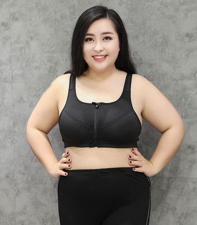 Big Size Sports Bra with Adjustable Strap