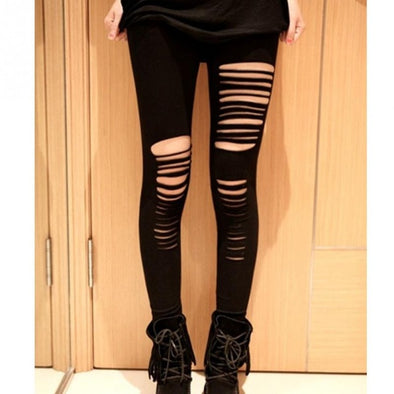 Ripped Fashion Leggings