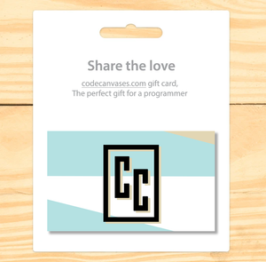 Gift Card - Code Canvases