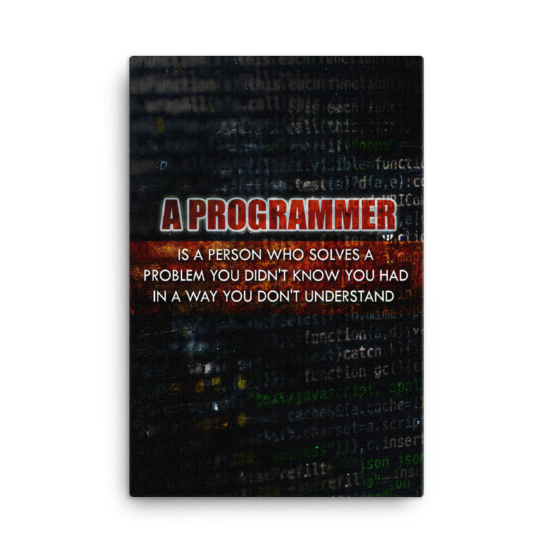 A Programmer... - Code Canvases