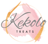 Kekolo Treats Logo. The luxury sweets/candy/treats online store of kekolo coffee.