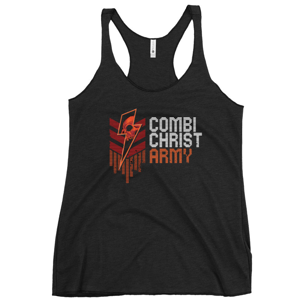 Combichrist Army Women's Racerback Tank
