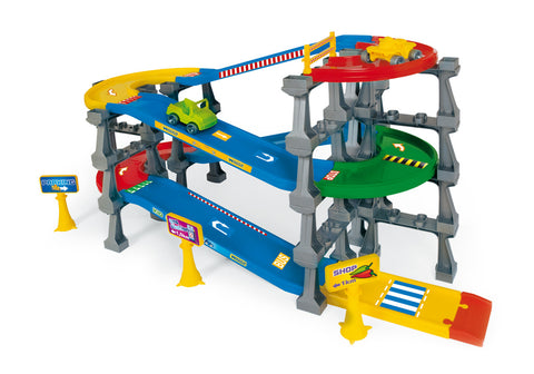 Kid Cars 3d - 5 Level cascading road