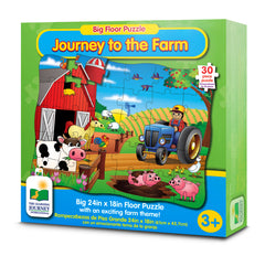 Big Floor Puzzles - Journey to the Farm (NEW)