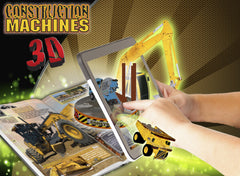 3D Construction Vehicles Book