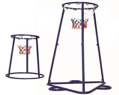 Twin Basketball Hoop & Trainer Stand