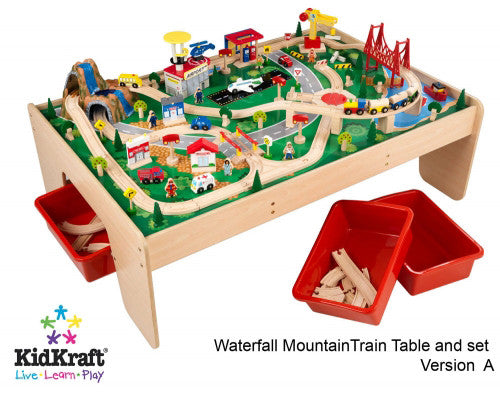 Waterfall Mountain Train Table