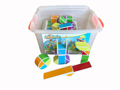 Magnetic Blocks 112 piece set