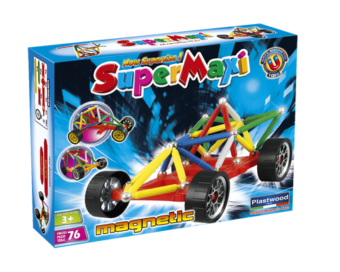 SuperMaxi Wheels Race Car 76 pcs