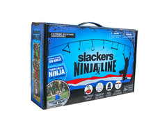 NinjaLine 30' Intro Kit with 7 Hanging Obstacles