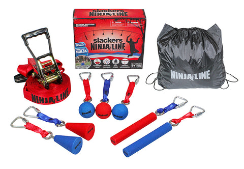 NinjaLine 30' Pro Combo Kit - 7 Obstacles