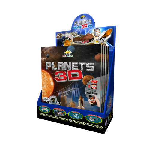 3D Planets Book