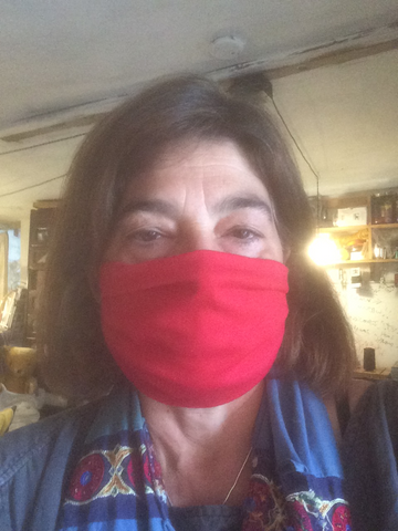 Organic Cotton stretchy adjustable masks