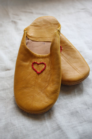 Embroider your Slippers Workshop