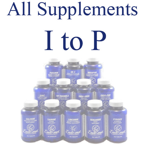 Supplements - I to P