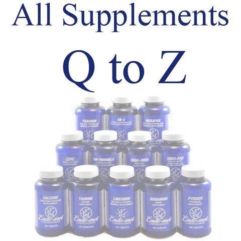 Supplements - Q to Z