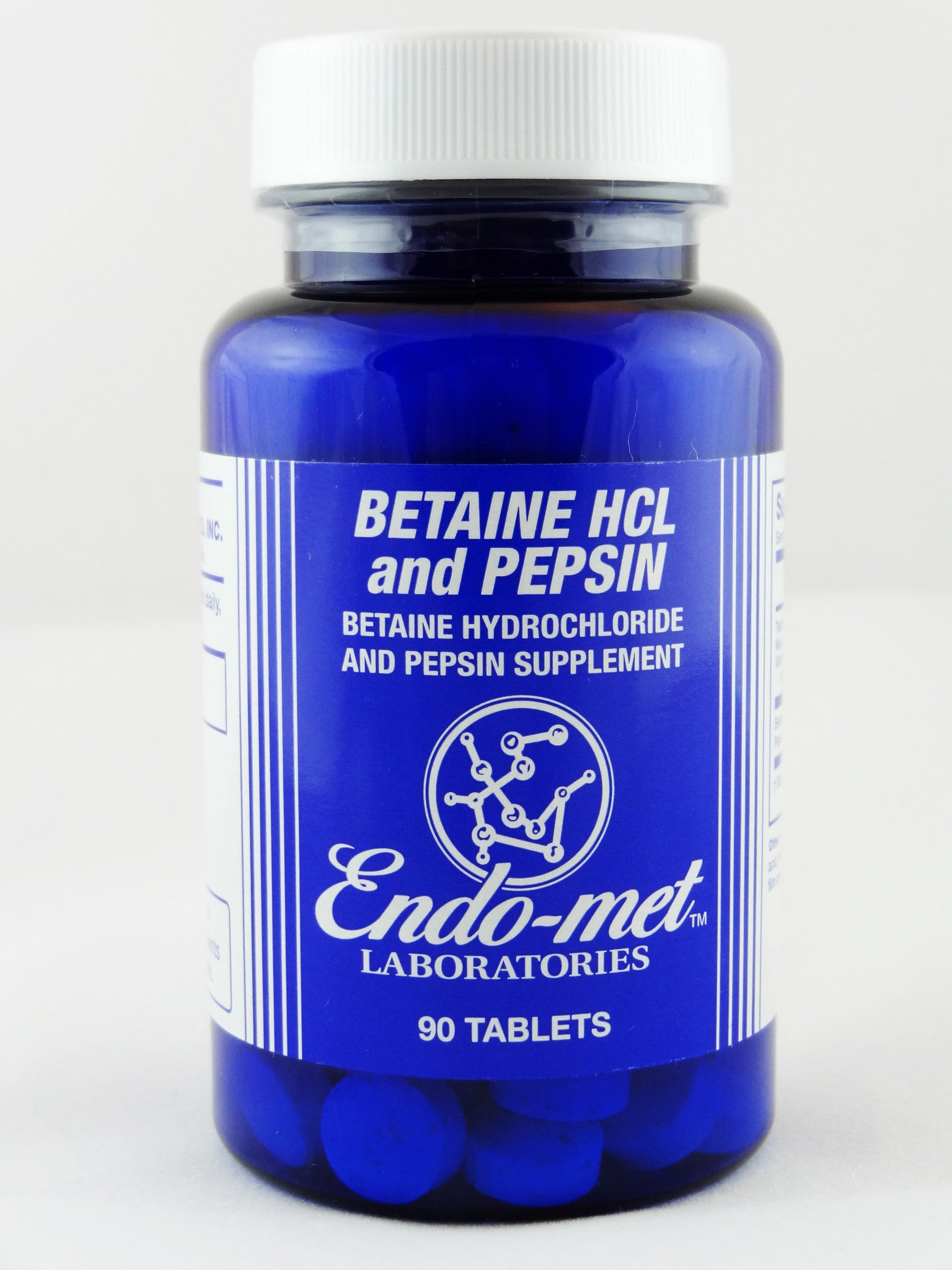 Betaine HCL and Pepsin (Discontinued by Endo-met)