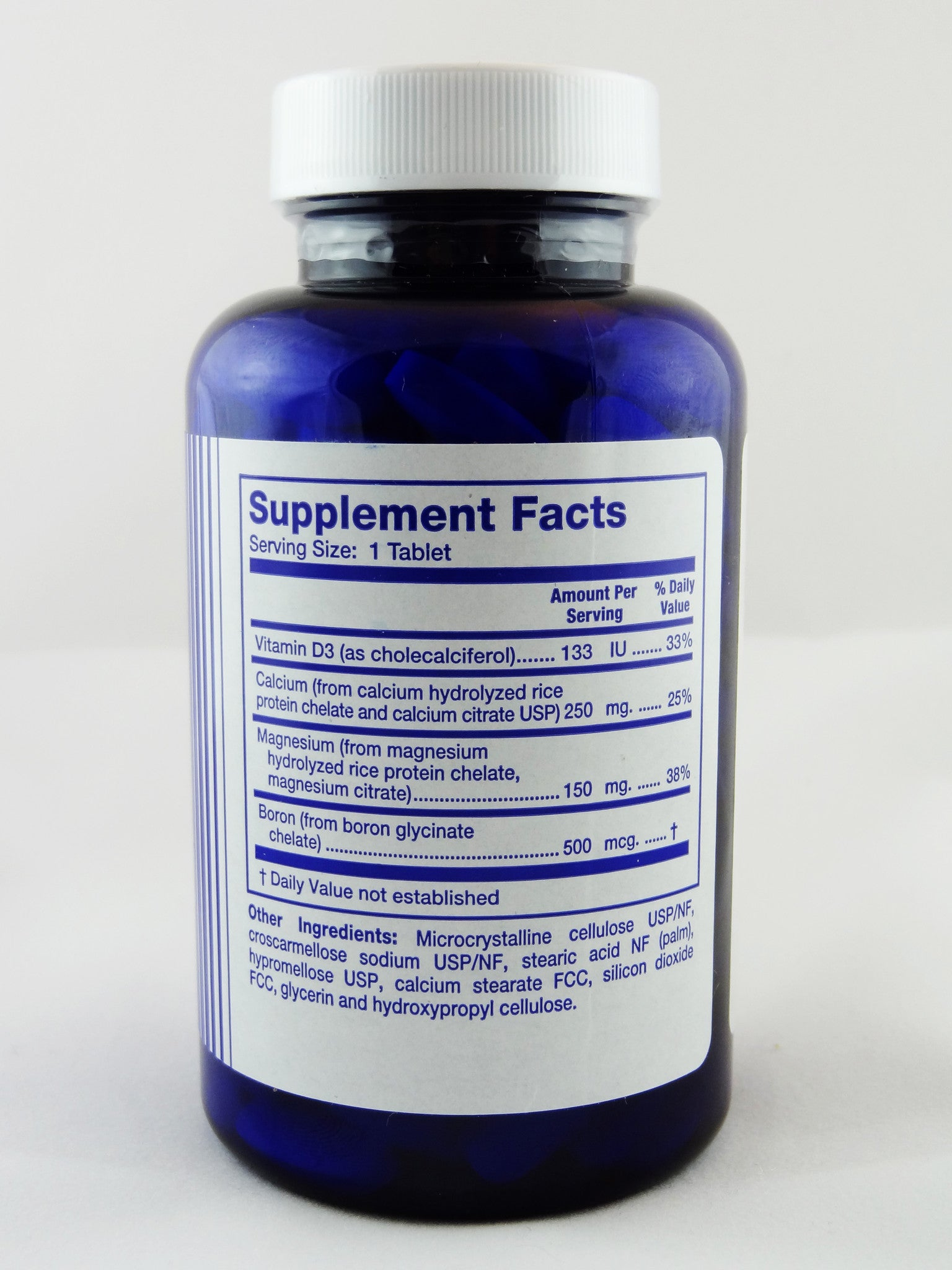 Paramin Supplement Facts