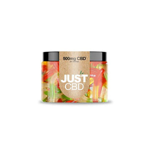 CBD Gummie Clear Worms 500mg