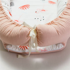 Newborn Crib Breathable And Sleep Nest