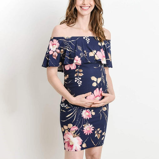 Casual Daily Pregnant  Dress