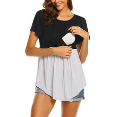 Tops Shirt For Pregnant Women and Breastfeeding