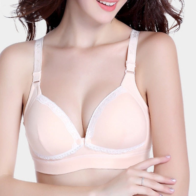 Women Cotton Breastfeeding Bra