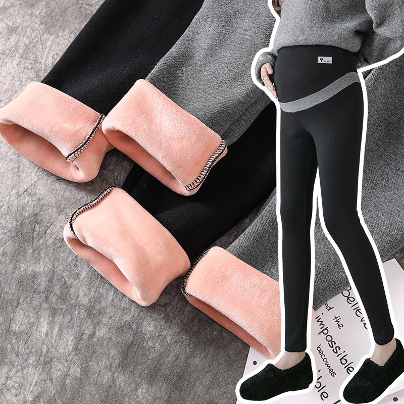 Maternity Leggings Warm Winter