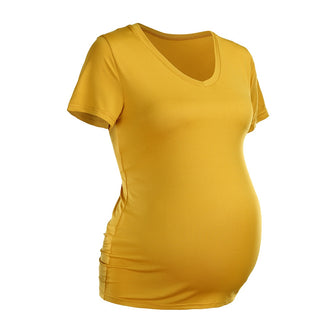 Casual Clothes Shirt Women Pregnant